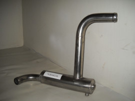 AUX HEATER ASSEMBLY TUBE 75-BIANCO 6