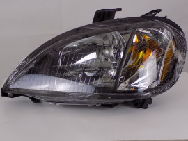 Freightliner Columbia Halogen Headlight Assembly | Black Housing | Driver Side | A0651041000