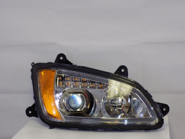 2008 KENWORTH T660 SERIES LED HEADLIGHT PAIR WITH CHROME HOUSING KW003-B0WPA