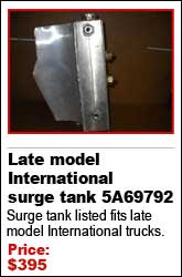 Late model International surge tank 5A69792